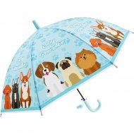 Зонт-трость «Михи-Михи» Собачки, голубой, 80 см