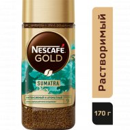 Кофе растворимый «Nescafe Gold» Origins Sumatra, 170 г.