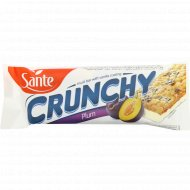 Батончик-мюсли «Crunchy» со сливой, 40 г.