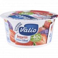 Йогурт «Valio» с клубникой и базиликом, 2.9%, 120 г