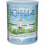 Напиток молочный сухой «Бибиколь» Нэнни 4, 800 г.