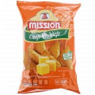 Чипсы кукурузные «Mission» со вкусом сыра, 150 г.