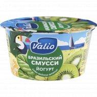 Йогурт «Valio» бразильский смусси, киви, фейхоа и шпинат, 2.6%, 140 г