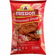 Чипсы кукурузные «Mission» со вкусом бекона, 150 г.