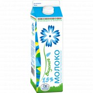 Молоко питьевое «Вкусное» пастеризованное 1.5%, 1 л.