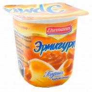 Пудинг ультрапастеризованный «Эрмигурт» карамельный 3%, 100 г.