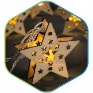 Гирлянда светодиодная линейная «Звезды декор» на батарейках 2хАА.