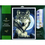 Картина по номерам «Greenwich Line» Волк, 327413