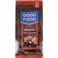 Миндаль «Gооd Food» в шоколадной глазури, 150 г