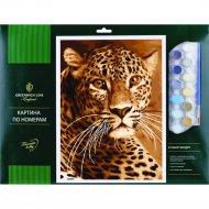 Картина по номерам «Greenwich Line» Леопард, 327411