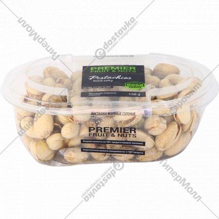 Фисташки жареные «Premier Fruit & Nuts» соленые, 150 г.