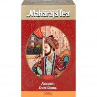 Чай чёрный листовой «Махараджа» Ассам Дум дума индийский, 100 г.