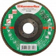 Круг лепестковый торцевой «Hammer» Flex 125 Х 22 Р.