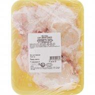 Бедро цыпленка-бройлера «Асобiна» замороженное, 1 кг., фасовка 0.7-1.2 кг