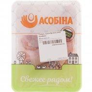 Голень цыпленка-бройлера «Асобiна» охлажденная, 1 кг., фасовка 0.8-1.3 кг