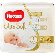 Подгузники «Huggies» Elite Soft, до 5 кг, 27 шт.