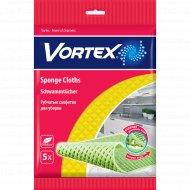 Салфетки губчатые «Vortex» для уборки, 3 шт.