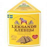 Хлебцы темно-ржаные «Leksands» традиционные, 200 г.