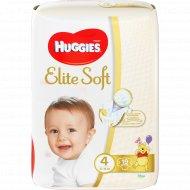 Подгузники «Huggies» elite soft, размер 4, 8-14 кг, 19 шт