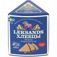Хлебцы ржаные «Leksands» традиционные, 200 г.
