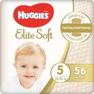 Подгузники «Huggies» Elite Soft, размер 5, 12-22 кг, 56 шт.