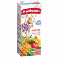 Сок «Bambolina» мультифруктовый, 0.2 л.