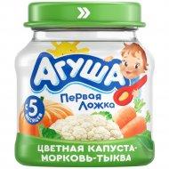 Пюре «Агуша» морковь, капуста, тыква, 80 г.