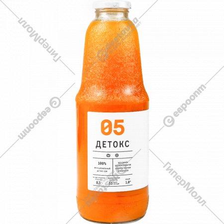 Сок овощефруктовый «Детокс 05» 1 л.