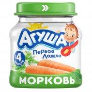 Пюре «Агуша» морковь, 80 г.