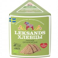 Хлебцы ржаные «Leksands» органические, 200 г.