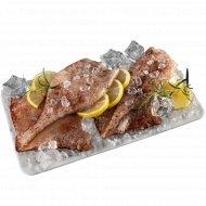 Кальмар «Командорский» глазированный, тушка, мороженый, 1 кг., фасовка 0.6-0.9 кг