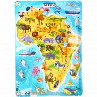 Пазл в рамке «Африка» 53 элемента.