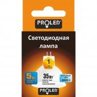 Светодиодная лампа «Proled» Gu-5.3 5W 4000K E27.