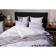 Комплект постельного белья «Ночь Нежна» Мадрид, двуспальный, 70х70.