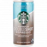Кофейный напиток «Starbucks» Doubleshot Espresso, 2.6%, 200 мл.