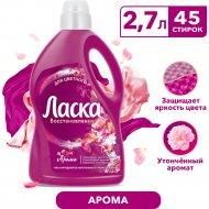 Средство жидкое для стирки «Laska» Арома-уход, 2.7 л.