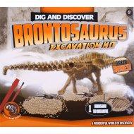 Набор «Раскопки динозавра» brontosaurus.