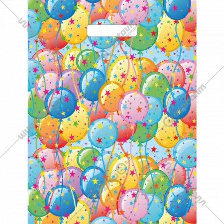 Мешок с ручками «Воздушные шарики» 40х31 см