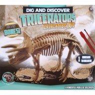 Набор «Раскопки динозавра» triceratops.