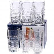 Набор стаканов стеклянных «Dallas» 380 мл., 6 шт.