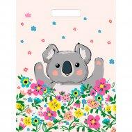 Мешок с ручками «Коала в цветах» 40х31 см