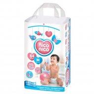 Подгузники «Nico Nico» размер M, 6-11 кг, 64 шт.