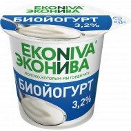 Биойогурт вязкий «Эконива» без наполнителя, 3.2%, 125 г