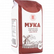 Мука пшеничная «МукаМол» М54-28, высший сорт, 2 кг