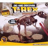 Набор «Раскопки динозавра» t-rex.