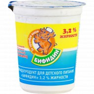 Бифидопродукт «Бифидин» 3.2%, 200 г.