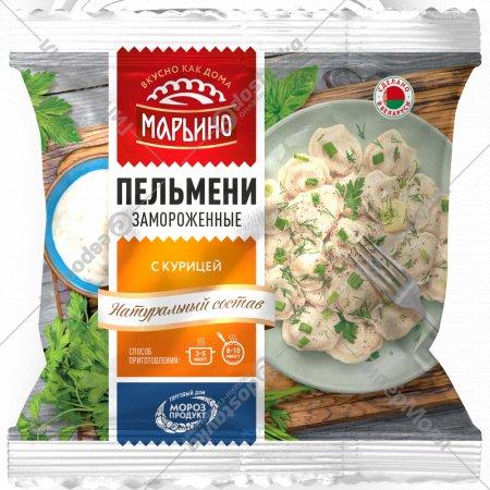 Пельмени «Марьино» с курицей, 400 г.