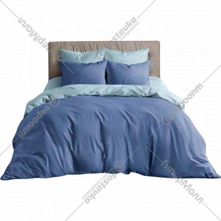 Комплект постельного белья «Ночь Нежна» Василек, двуспальный, 50х70.