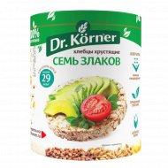 Хлебцы «Dr. Korner» 7 злаков, 100 г.