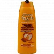 Шампунь-масло для волос «Fructis» тройное восстановление, 250 мл.